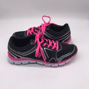 US Polo Assn. Black/Hot Pink Athletic Shoes 8.5M